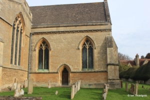 Turvey - All Saints. Chancel from the south.