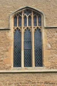 Turvey - All Saints. South aisle, centre window.