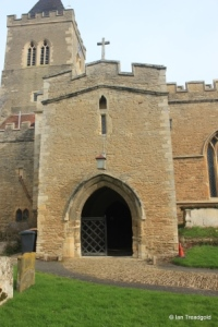 Turvey - All Saints. South porch.