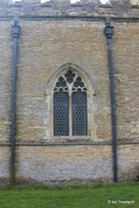 Turvey - All Saints. North aisle, western window.