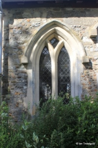 Chalgrave - All Saints. South aisle, centre window.