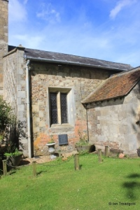 Chalgrave - All Saints. South aisle, south-west window and porch.