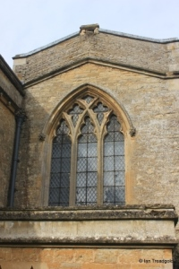 Turvey - All Saints. North aisle, east window.