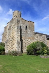 Chalgrave - All Saints. Tower from the south-west.