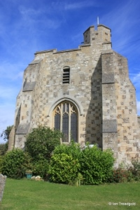 Chalgrave - All Saints. Tower from the west.