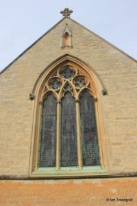 Turvey - All Saints. East window.