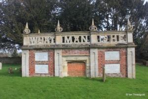 Turvey - All Saints. Mausoleum.