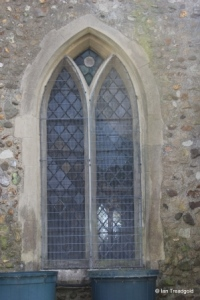 Chalgrave - All Saints. North aisle, western window.