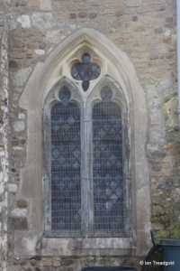 Chalgrave - All Saints. North aisle, middle window.
