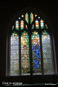 Clophill - St Mary. East window internal.