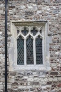 Cockayne Hatley - St John the Baptist. South aisle window.