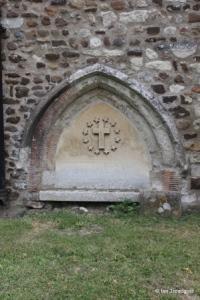 Cockayne Hatley - St John the Baptist. South doorway remains.