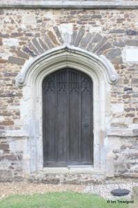 Cockayne Hatley - St John the Baptist. West door.