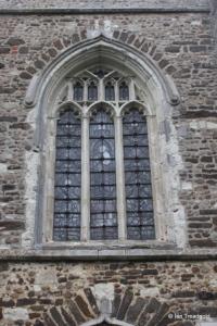 Cockayne Hatley - St John the Baptist. West window.