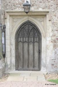 Cockayne Hatley - St John the Baptist. North door.