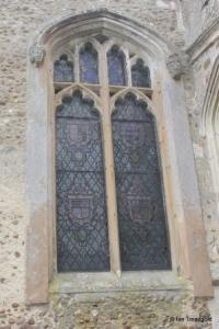 Cockayne Hatley - St John the Baptist. Chancel, north window.