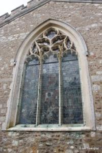 Cockayne Hatley - St John the Baptist. East window.