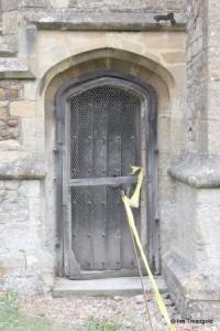 Colmworth - St Denys. Priest's door.