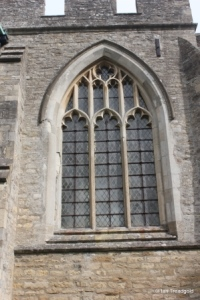 Colmworth - St Denys. Window design throughout the church.