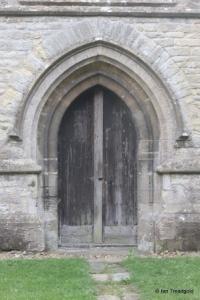 Colmworth - St Denys. West door.