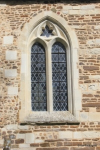 Westoning - St Mary. Chancel, south-east window.
