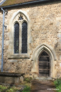 Westoning - St Mary. Chancel, south-west window.