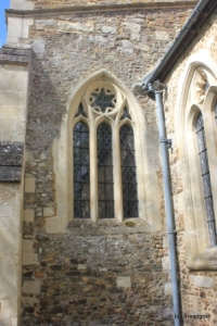 Westoning - St Mary. South aisle, east window.