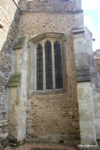Westoning - St Mary. South aisle, west window.