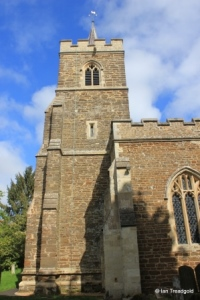 Westoning - St Mary. Tower from the south.