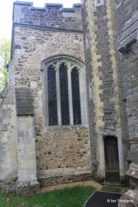 Westoning - St Mary. North aisle, west window.