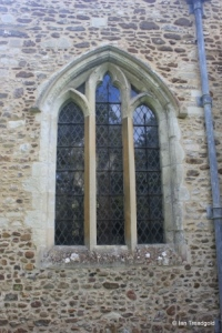 Westoning - St Mary. North aisle, north-east window.