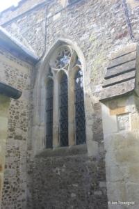 Westoning - St Mary. North aisle, east window.