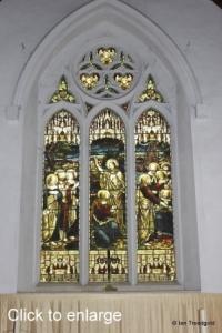 Westoning - St Mary. East window internal.