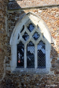 Dunton - St Mary Magdalene. South aisle, south-west window.