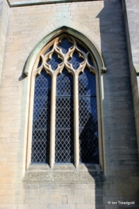 Dunton - St Mary Magdalene. Tower west window.