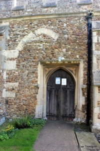 Dunton - St Mary Magdalene. North door.