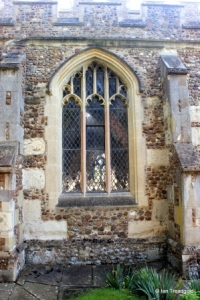 Dunton - St Mary Magdalene. North window example.