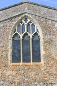 Wilden - St Nicholas. East window.