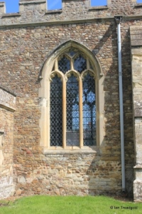 Wilden - St Nicholas. Nave, south centre window.