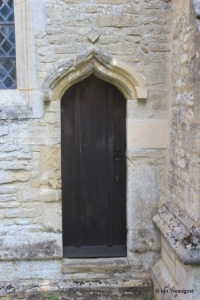 Dean, All Hallows. Priest's door.