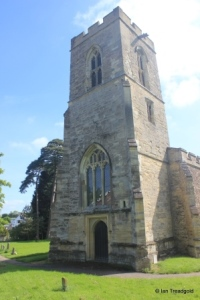 Wilden - St Nicholas. West tower.