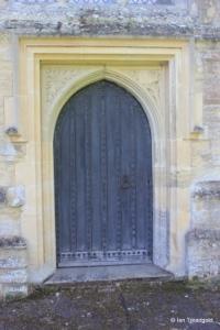 Wilden - St Nicholas. West door.
