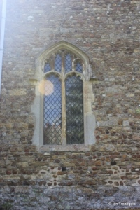 Wilden - St Nicholas. North-west window.
