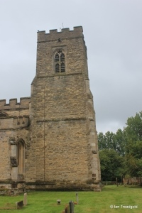 Willington - St Lawrence. Tower from the north.
