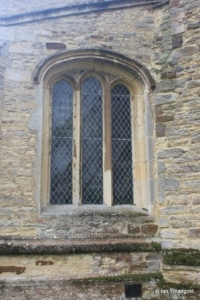 Willington - St Lawrence. North aisle, west window.