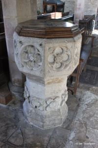Dean, All Hallows. Font.
