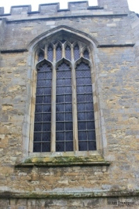 Willington - St Lawrence. Gostwick chapel, north west window.
