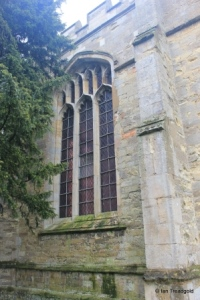 Willington - St Lawrence. Gostwick chapel, north east window.