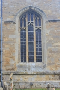 Willington - St Lawrence. Chancel, south-east window.