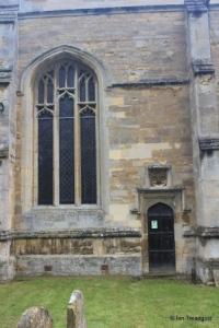 Willington - St Lawrence. Chancel, south-west window.